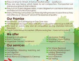 #4 para Design a Flyer for Quiet Corner Landscapers LLC por designciumas