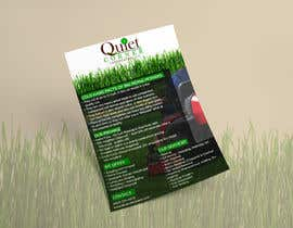 #2 para Design a Flyer for Quiet Corner Landscapers LLC por ghani1