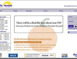 #7 untuk Website Design for Pacific Horizon Credit Union oleh kaulg