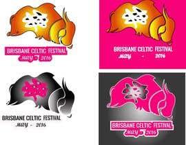 #83 untuk Brisbane Celtic Festival logo design oleh webmastersud