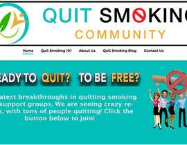 #28 for Design a Logo for a Website That Helps People Stop Smoking by manthanpednekar