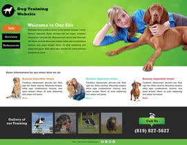 #5 para Urgent design for Dog trainer website por greenarrowinfo