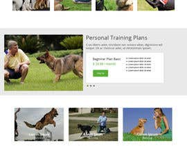 #1 untuk Urgent design for Dog trainer website oleh myumifte