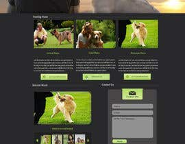 #20 para Urgent design for Dog trainer website por harisramzan11