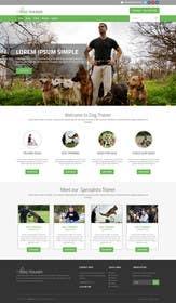 Nro 8 kilpailuun Urgent design for Dog trainer website käyttäjältä ankisethiya