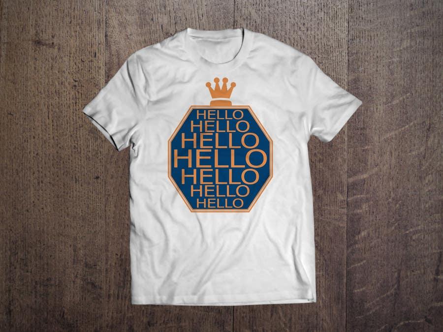 Inscrição nº 79 do Concurso para TC - Design a T-Shirt for Company