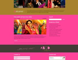 Nro 6 kilpailuun Build a Website for Dance School (Bollywood Dancing) including some content käyttäjältä tggmale