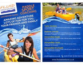 nº 25 pour Design a flyer for Summer Holiday Kayaking Courses par fecodi