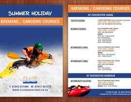 nº 19 pour Design a flyer for Summer Holiday Kayaking Courses par pris
