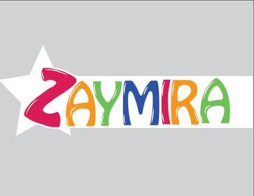 Nro 16 kilpailuun Design a Logo for ZAYMIRA käyttäjältä selinayilmaz1