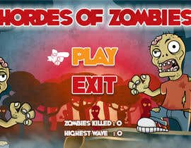 #18 untuk Design & Illustration - 2D Zombie Game Main Screen oleh Bebolum