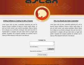 nº 33 pour Graphic Design for Aslan Corporation par Five7FourGFX