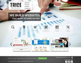 #16 untuk Design a Website Mockup for Trice Web Development oleh thecwstudio
