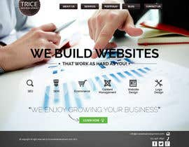 thecwstudio tarafından Design a Website Mockup for Trice Web Development için no 29