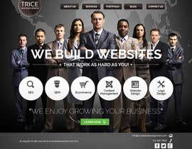 #30 untuk Design a Website Mockup for Trice Web Development oleh thecwstudio