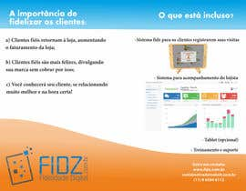 #1 for Projetar a flyer/brochure/table tent for fidz af andrei215