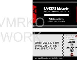 #55 untuk Design some Business Cards for Auto Dealership oleh VMRKO