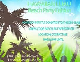 Nro 11 kilpailuun Design a Flyer for a birthday party käyttäjältä ankagrafik