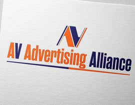 #23 untuk Design logo for AV Advertising Alliance oleh babaprops