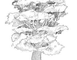 #27 para Pen and ink tree character por HackGate