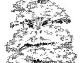 #22 para Pen and ink tree character por guncia3