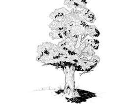 #25 para Pen and ink tree character por nufo