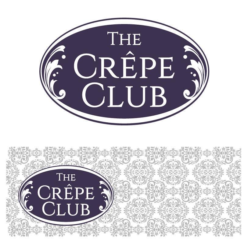 Inscrição nº 42 do Concurso para Design a Logo for The Crêpe Club + cart design