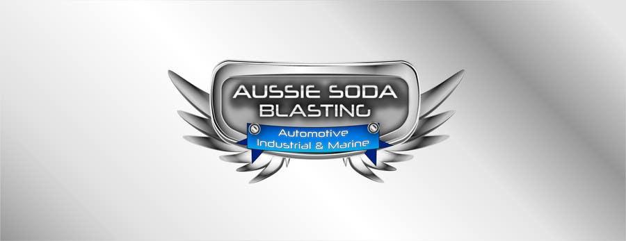 Penyertaan Peraduan #65 untuk Design a Logo for 'Aussie Soda Blasting'