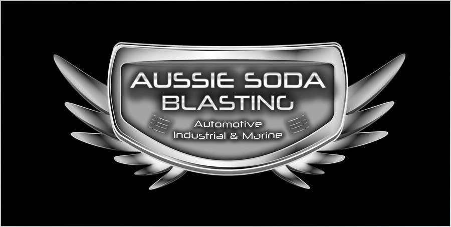 Penyertaan Peraduan #66 untuk Design a Logo for 'Aussie Soda Blasting'