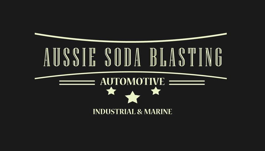 Penyertaan Peraduan #68 untuk Design a Logo for 'Aussie Soda Blasting'