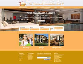 #43 for new website screendesign for real estate company by bellalbellal25