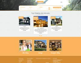 #63 for new website screendesign for real estate company by bellalbellal25