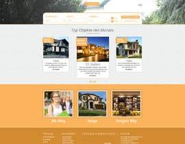 #63 untuk new website screendesign for real estate company oleh bellalbellal25
