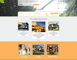 #64 for new website screendesign for real estate company by bellalbellal25