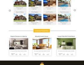 Nro 23 kilpailuun new website screendesign for real estate company käyttäjältä Muqeemdesigner
