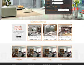 #27 cho new website screendesign for real estate company bởi Manhoc