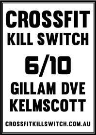 #12 for Design a Flyer for CROSSFIT KILLSWITCH af KremMtv
