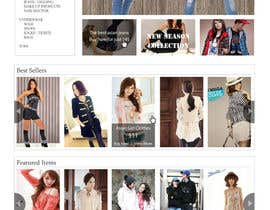 #44 for Website Design for VIVI Clothes by dragnoir