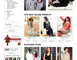 nº 48 pour Website Design for VIVI Clothes par dragnoir