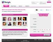 Graphic Design for a dating website homepage için Graphic Design8 No.lu Yarışma Girdisi