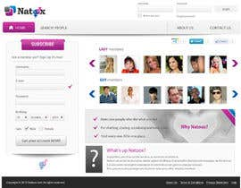 jasminkamitrovic tarafından Graphic Design for a dating website homepage için no 11