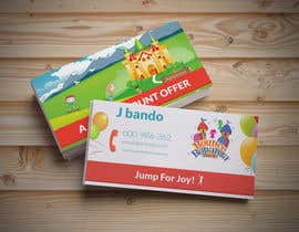 #31 cho Design some Business Cards for Bounce Bonanza bởi Creativeapes1