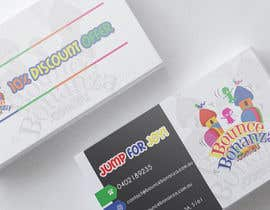 AshoxDz tarafından Design some Business Cards for Bounce Bonanza için no 40