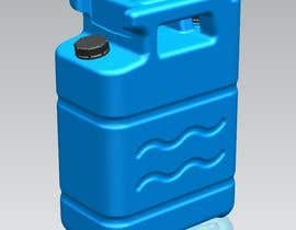 #16 for Design and 3D-Modelling of a Water Canister by joeysiwatewintra