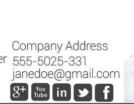 Nro 3 kilpailuun Email Signature Designed käyttäjältä peruzzy91