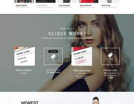 #3 untuk I have already designed a landing page and I need it to be redesigned based on my feedback! oleh webidea12
