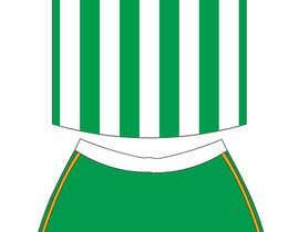 #24 para Design a soccer Jersey por wahyuguntara5