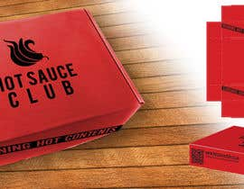 #10 for Create Print and Packaging Designs for HotSauceClub.co.uk Box by trolio
