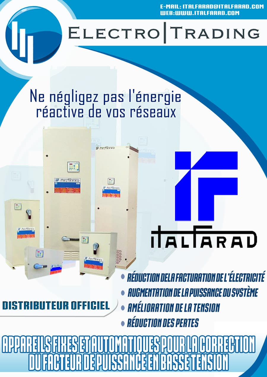 #41 for Concevez un flyer for ELECTRO TRADING - ITALFARAD by jatacs