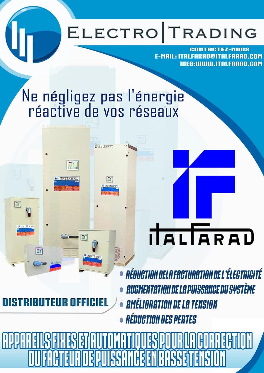 #42 for Concevez un flyer for ELECTRO TRADING - ITALFARAD by jatacs